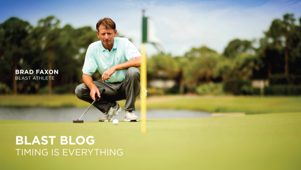 Putting Stroke, Blast Blog, Timing is Everything